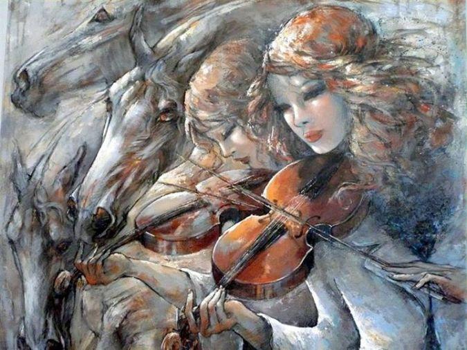 Jeanne Saint Cheron - violinist