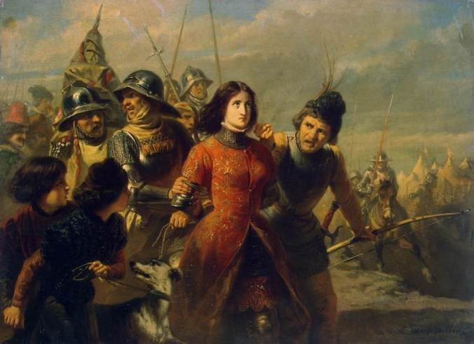 The capture of Joan of Arc by Alexandre Dillens