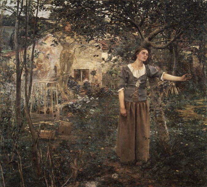 Joan of Arc by Jules Bastien-Lepage
