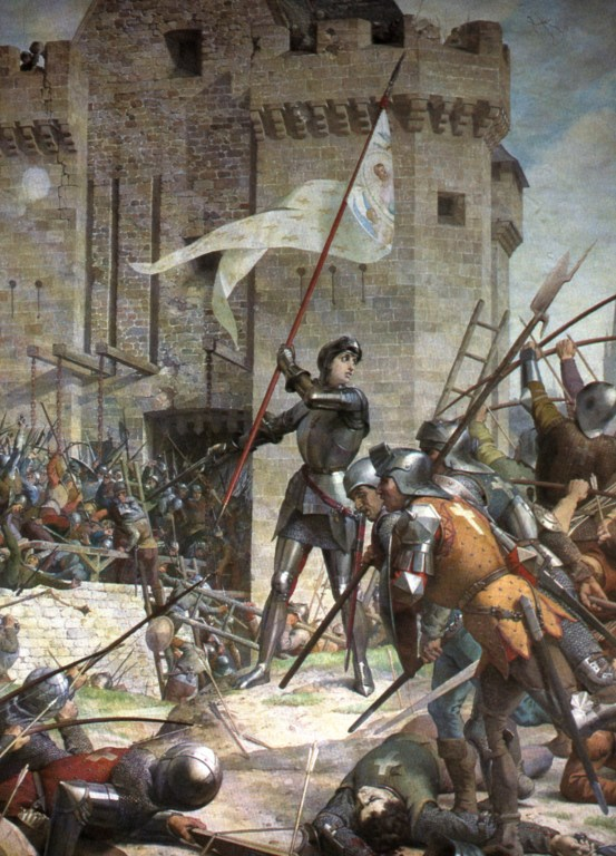 Jeanne d'Arc at the Siege of Orleans