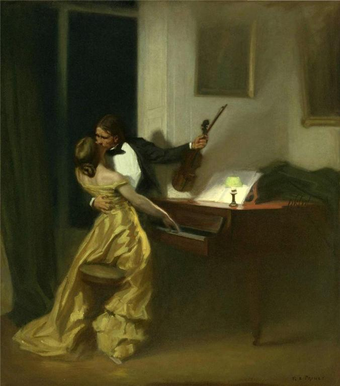 The Kreutzer Sonata by Xavier Prinet