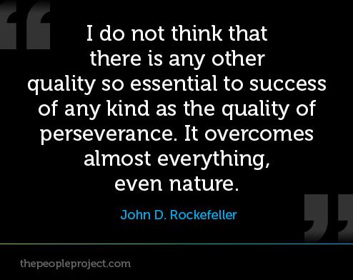 Rejection - JD Rockerfeller