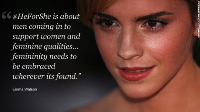 Femininity - Emma Watson