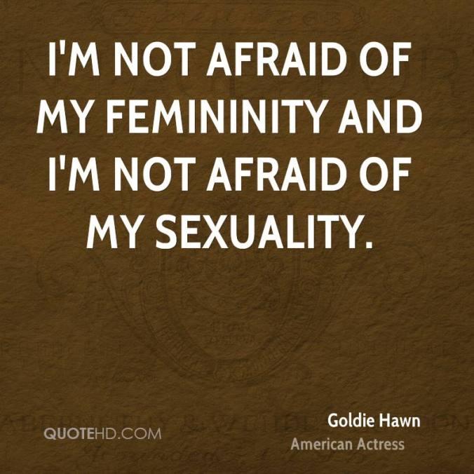 Femininity - goldie-hawn