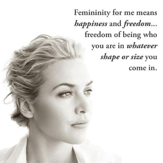Femininity - Kate Winslet