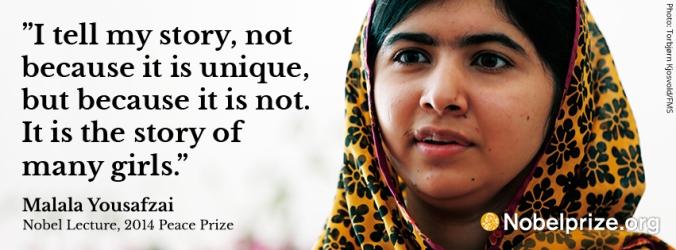 Femininity - malala quote1