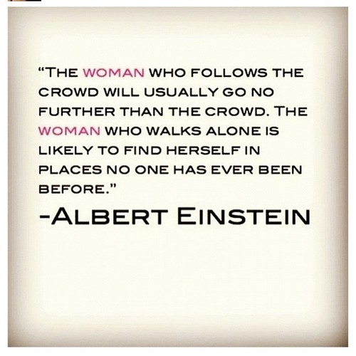 Femininity - Strong Albert Einstein