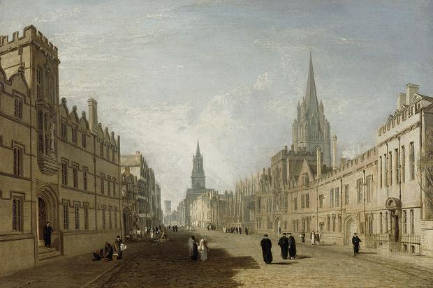 Oxford High Street by JMW Turner