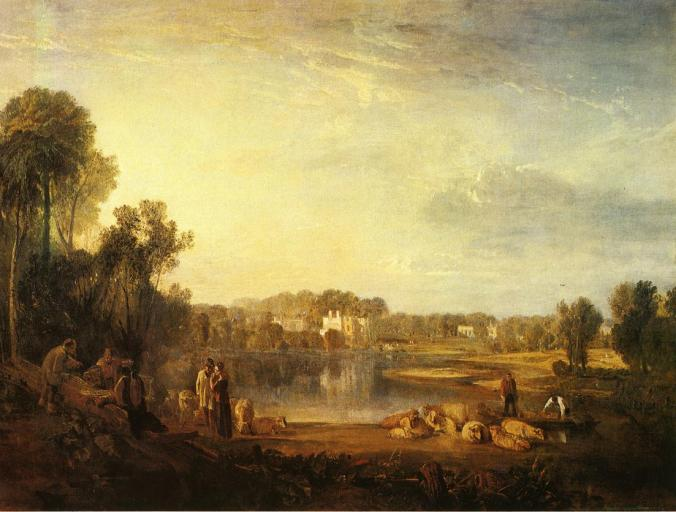 Pope's Villa at Twickenham by JMW Turner