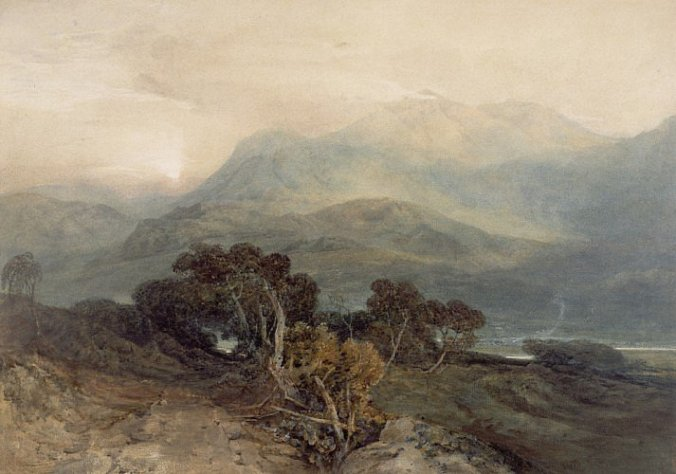 Scottish landscape by JMW Turner