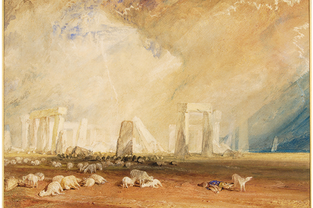 Stonehenge by JMW Turner c. 1827