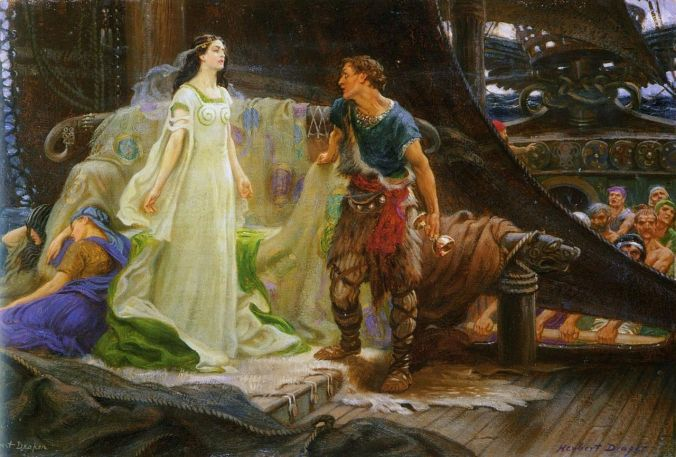Tristan and Isolde by Herbert James Draper