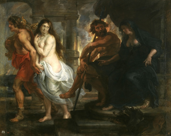 Orpheus and Eurydice in the Underworld by Peter Paul Rubens