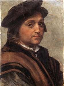 Agostino Tassi, self-portrait