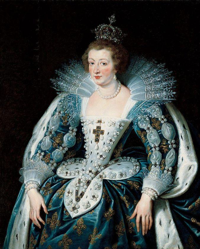 Anne of Austria c. 1622 - 25 by Peter Paul Rubens