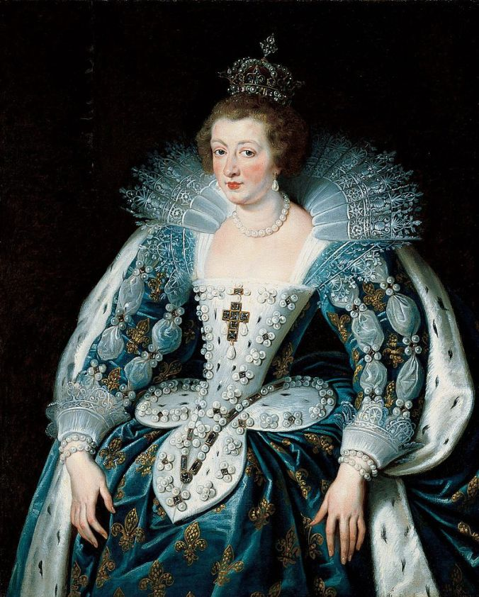 Anne of Austria c. 1622 - 25 by Peter Paul Rubens