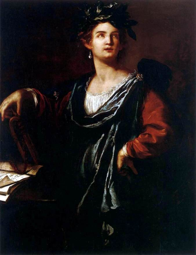 Clio the Muse of History c. 1632 by Artemisia Gentileschi
