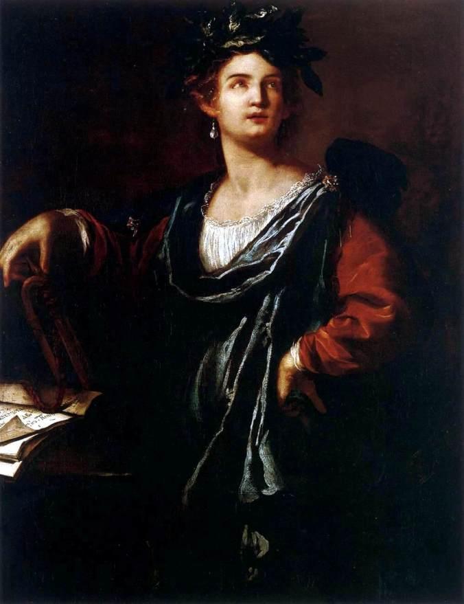 Clio the Muse of History c. 1632 by Artemisia Gentileschi