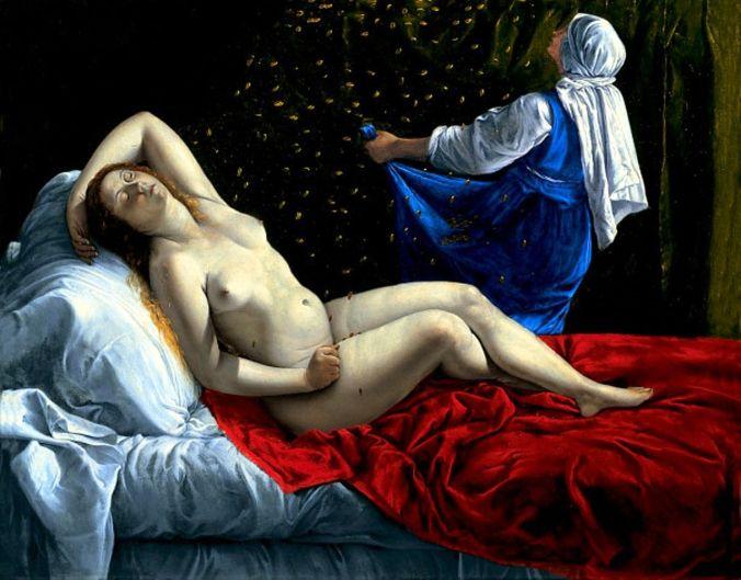 Danaë by Artemisia Gentileschi