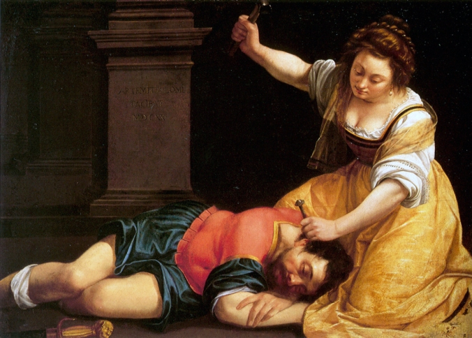 Jael and Sisera c. 1620 by Artemisia Gentileschi