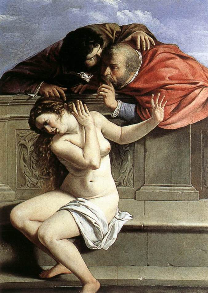 Artemisia_Gentileschi - Susanna_and_the_Elders_(1610)