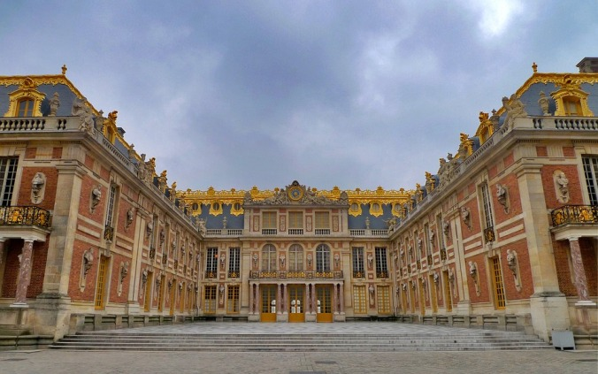 Entrance to Versailles