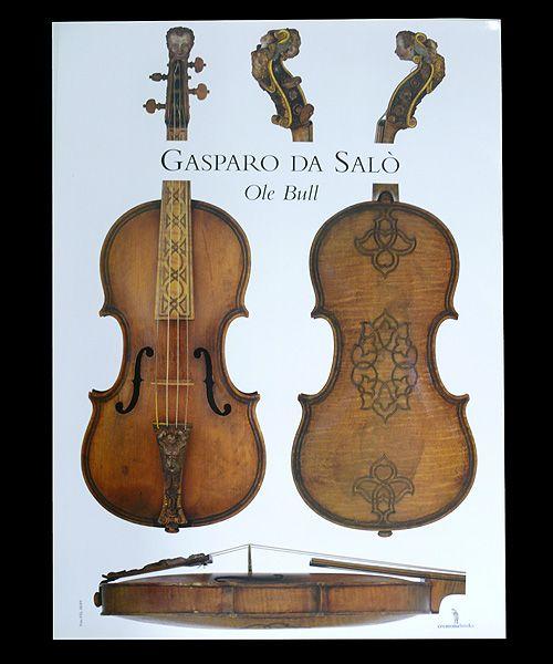 Ole Bull's Gasparo da Salo violin.