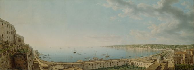 A View of the Bay of Naples by Giovanni Battista Lusieri