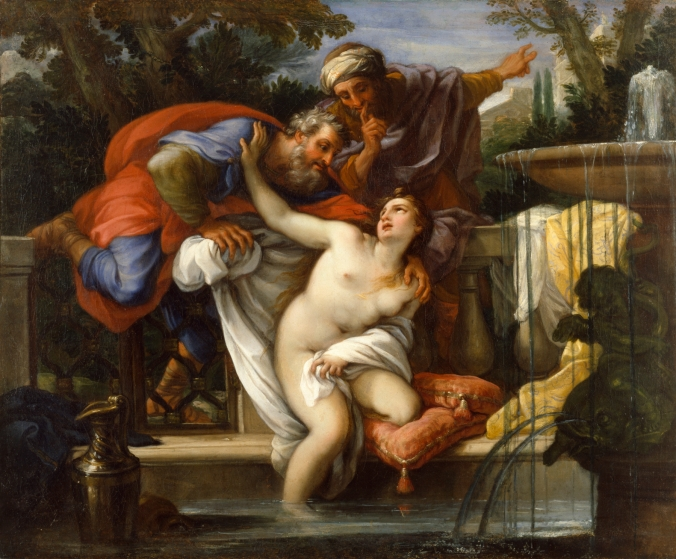 Susanna and the Elders by Giuseppe Bartolomeo Chiari
