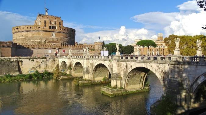 Ponte Sant' Angelo, Rome