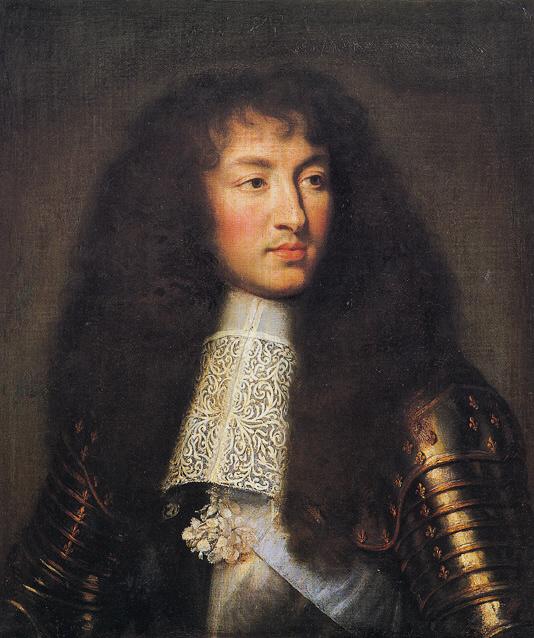 Portrait of Louis XIV by Charles Le Brun c. 1661