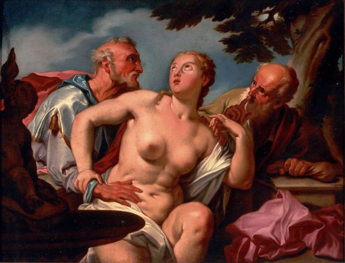 Susanna and the Elders by Orazio Gentileschi