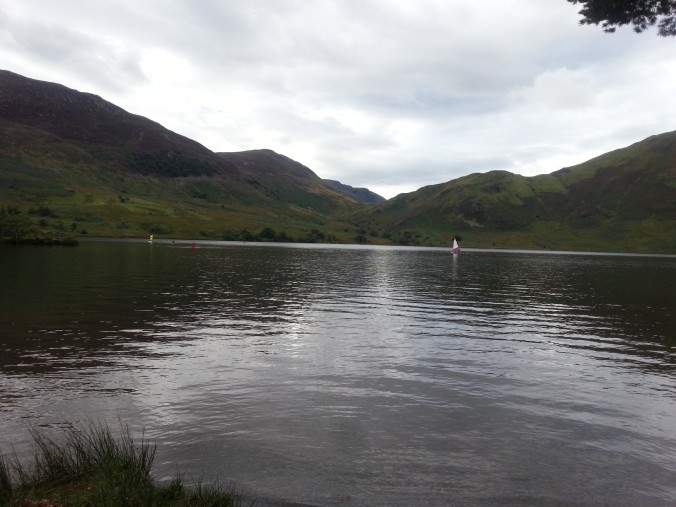 Boats on Crummock Water