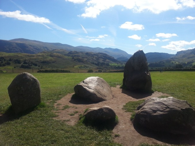 Part of the inner Castlerigg Stone Circle