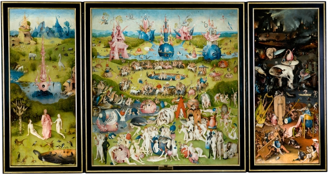 The Garden of Earthly Delights (triptych ca. 1510) by Hieronymus Bosch