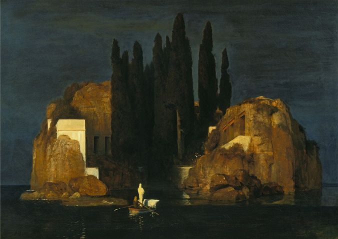 Isle of the Dead by Arnold Böcklin c. 1880 (Basel Version)