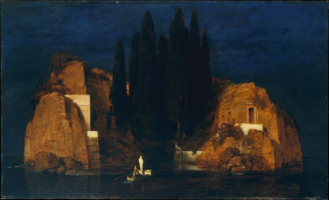 Isle of the Dead by Arnold Böcklin c. 1880 (Metropolitan Museum New York)