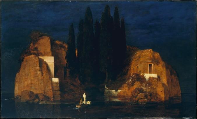 Isle of the Dead by Arnold Böcklin c. 1880 (Metropolitan Museum New York)