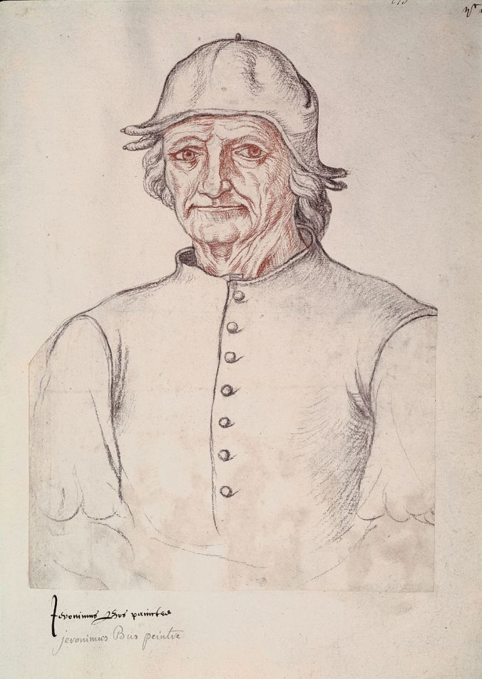 Image of Hieronymus Bosch thought to be based on a self-portrait.