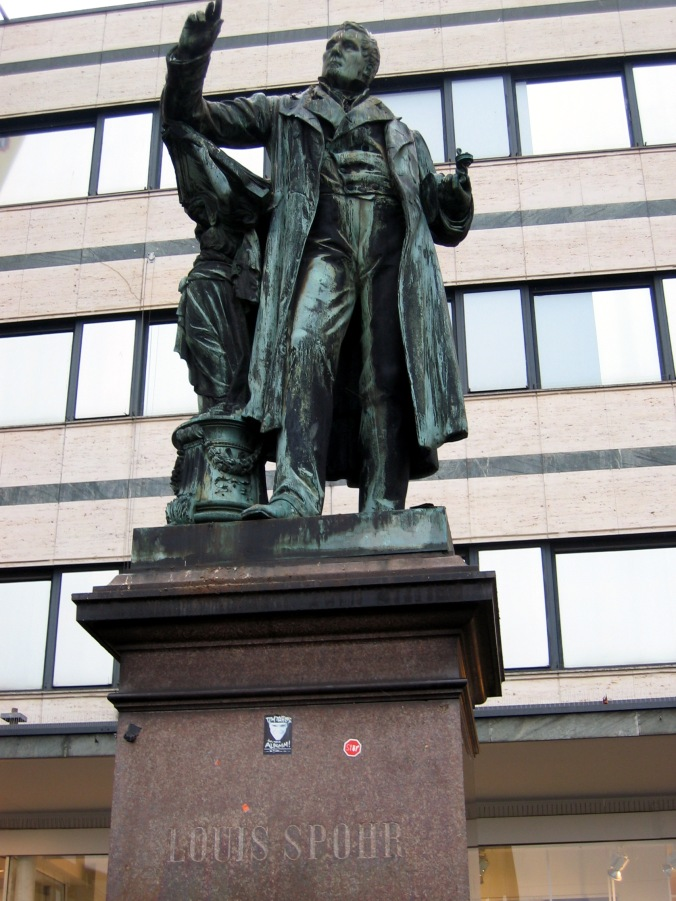 Statue of Louis Spohr in Kassel.