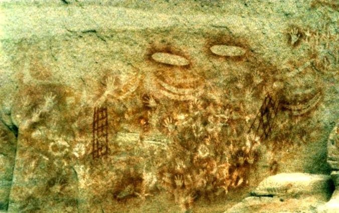 Aboriginal art from Carnarvon Gorge