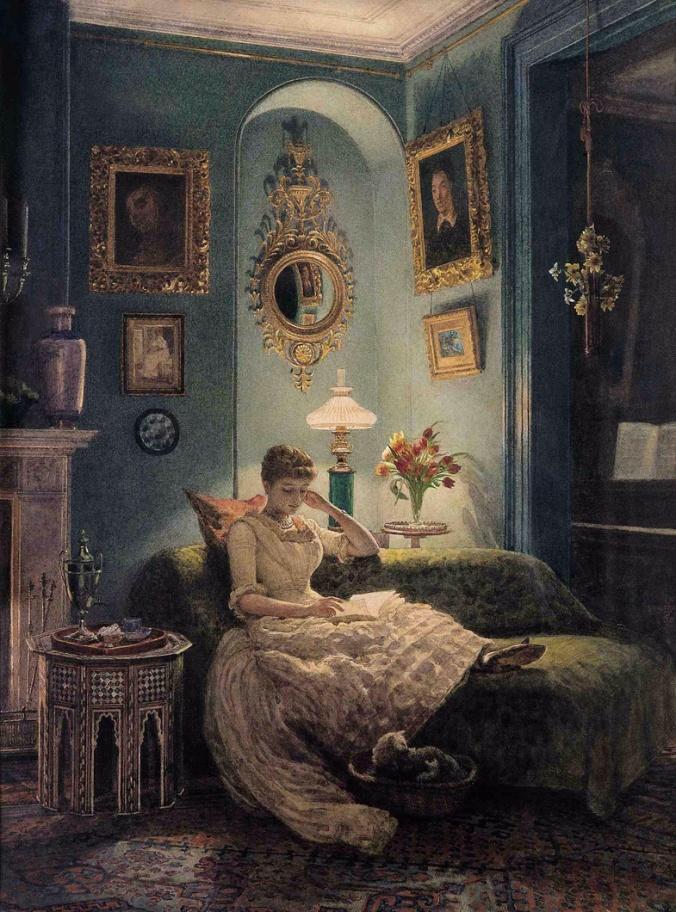 edward-john-poynter-lady-reading