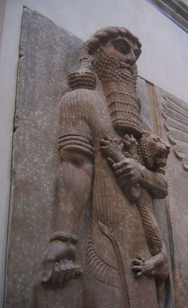 Gilgamesh at the Louvre