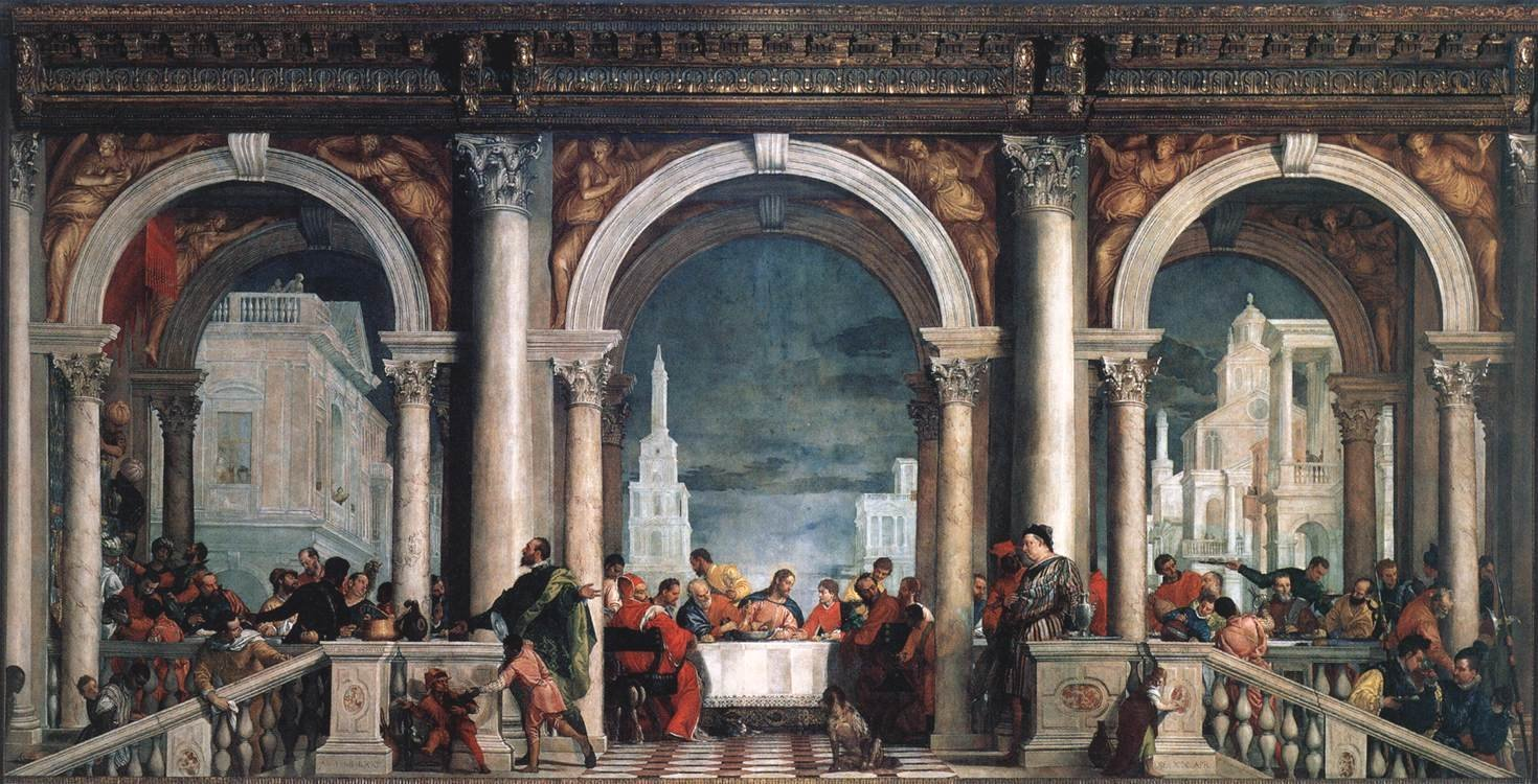 what s in a painting taking a closer look at paolo veronese s