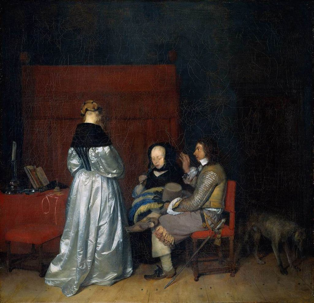 What's in a Painting? Taking a Closer Look at Gerard ter Borch the ...
